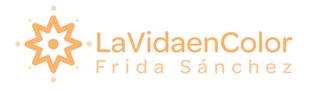 Lavidaencolor – Frida Sánchez Logo